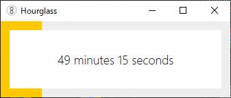 Hourglass-countdown